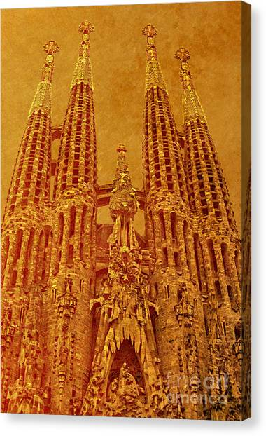 La Sagrada Familia Canvas Print