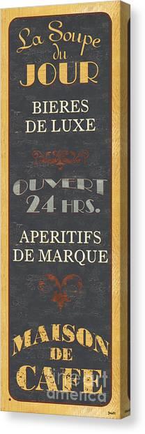 Old Age Canvas Print - La Soupe Du Jour by Debbie DeWitt