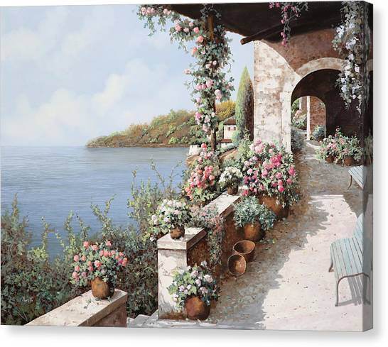 Italy Canvas Print - La Terrazza by Guido Borelli