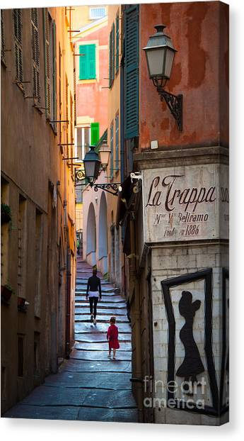 Europa Canvas Print - La Trappa by Inge Johnsson
