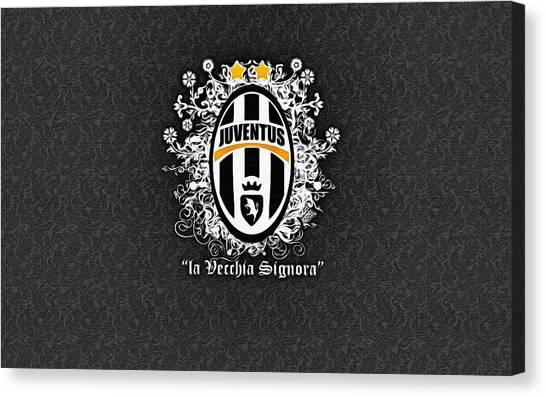 La League Canvas Print - La Vecchia Signora by Florian Rodarte