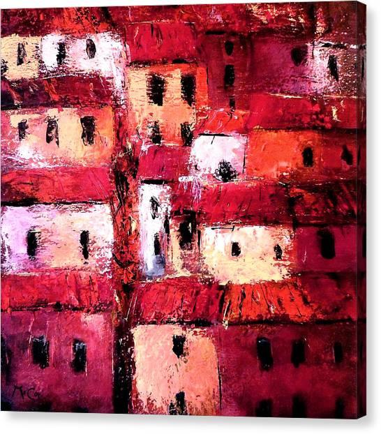 La Vieille Ville Canvas Print