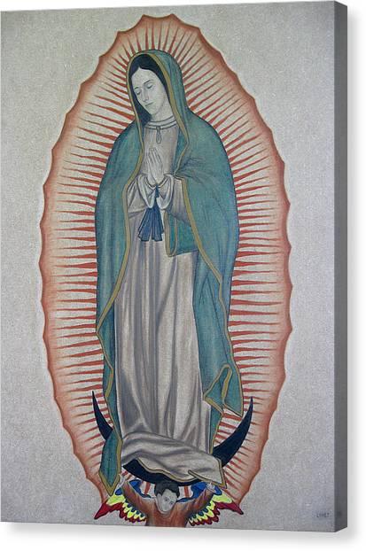 La Virgen De Guadalupe Canvas Print