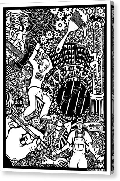 Labor Daze Canvas Print