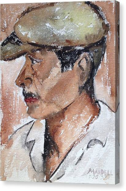 Laborer Canvas Print by Maxwell Mandell