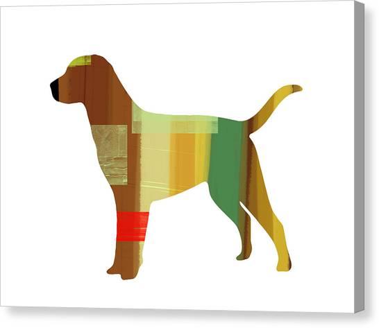 Labrador Retrievers Canvas Print - Labrador Retriever by Naxart Studio