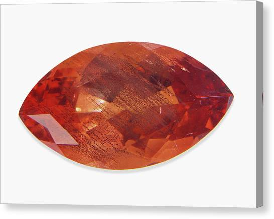 Gemstones Canvas Print - Labradorite Sunstone by Dorling Kindersley/uig