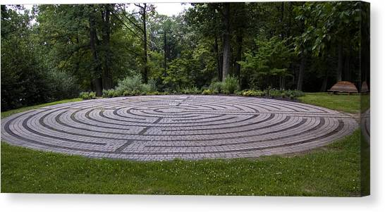Labyrinth 2 Canvas Print