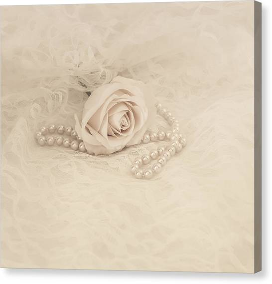 Lace And Promises Canvas Print