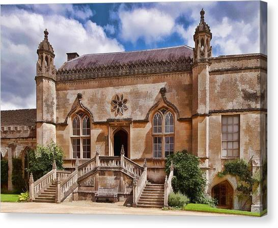 Lacock Abbey - The West Front Canvas Print