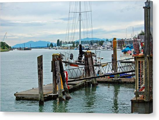 Canvas Print - Laconnor Harbor by Randall Templeton