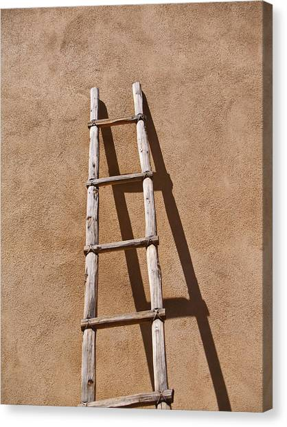 Ladder Canvas Print by James Granberry