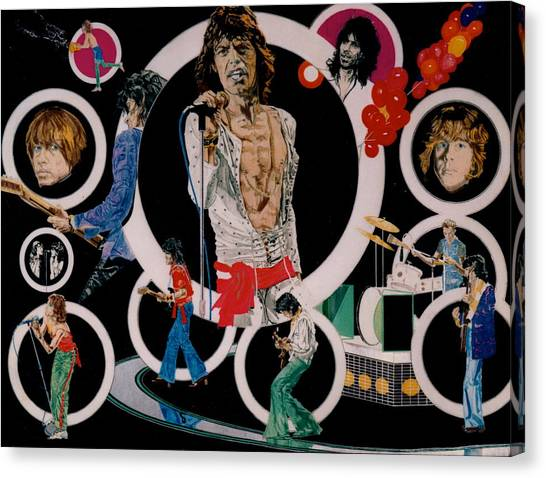 Ladies And Gentlemen - The Rolling Stones Canvas Print