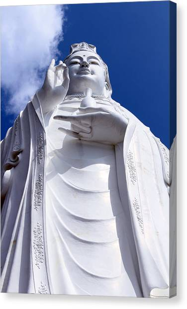 Lady Buddha Vietnam Canvas Print