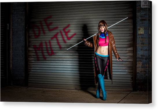 Lady Gambit  Canvas Print by Andreas Schneider