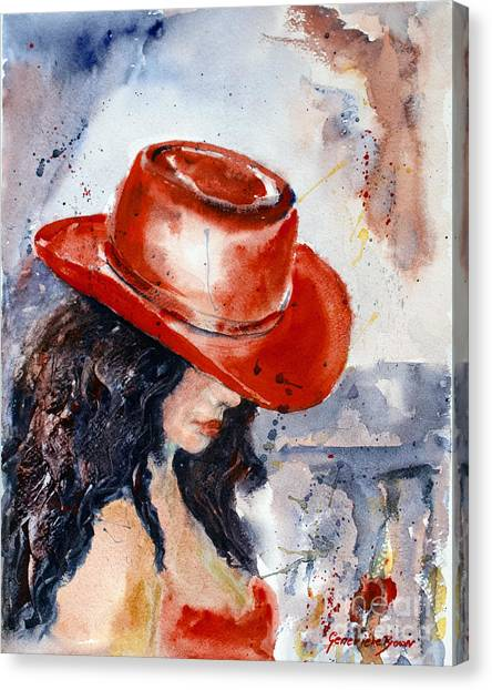 The Red Hat Canvas Print