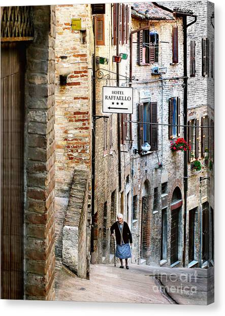 Lady In Urbino Canvas Print