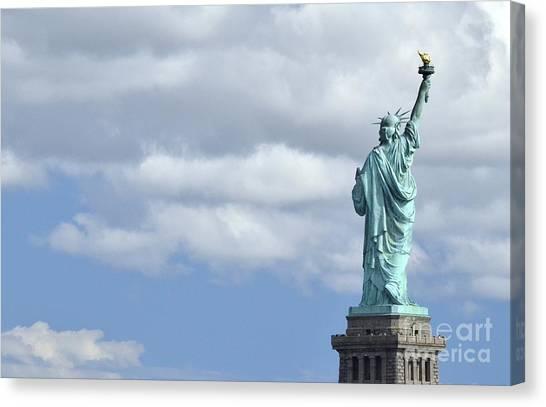 Lady Liberty   1 Canvas Print
