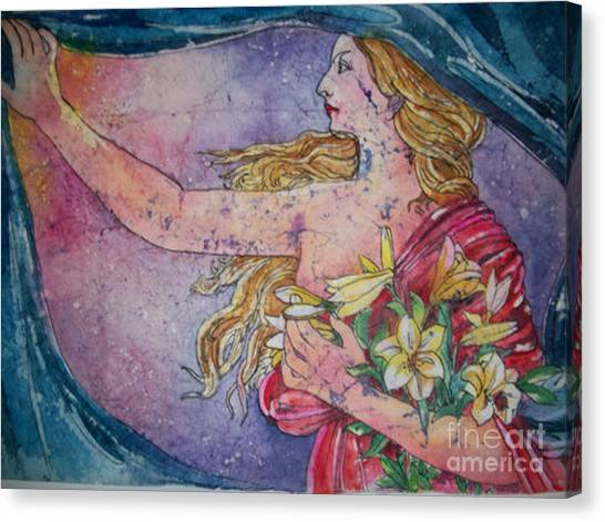 Lady Of The Morning Canvas Print