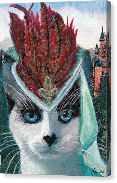 Lady Snowshoe Canvas Print