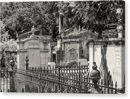 Lafayette Cemetery No. 1 Canvas Print