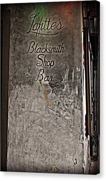 Lafitte's Blacksmith Shop Bar Canvas Print