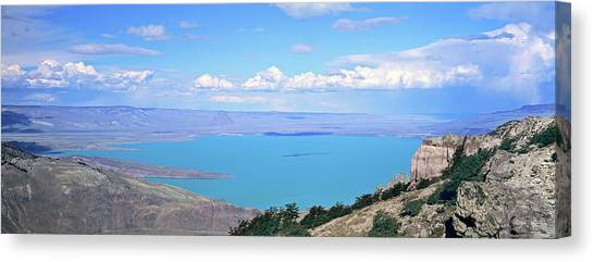 Condors Canvas Print - Lago  San Martin, Patagonia, Argentina by Martin Zwick