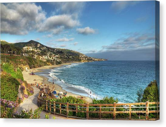 Laguna Beach Shoreline Canvas Print