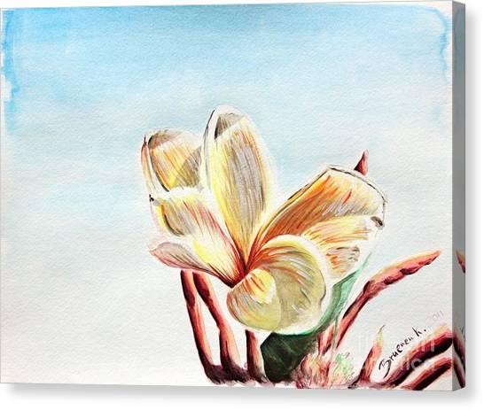 Laguna Flower Canvas Print