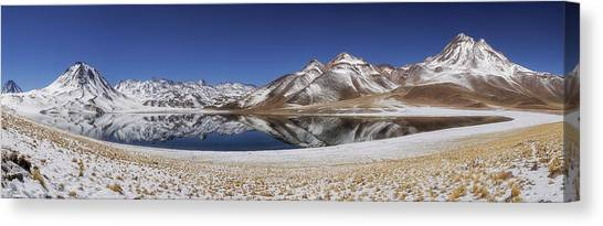South American Canvas Print - Laguna Miscanti by Adhemar Duro