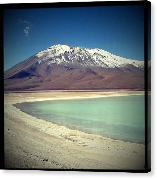 Atacama Desert Canvas Print - Laguna Verde, Potosi, Bolivia #bolivia by Pedro Miranda