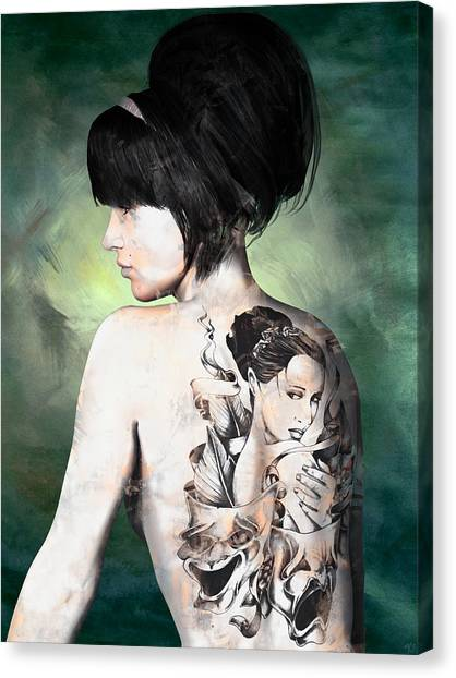 Laid Bare Canvas Print