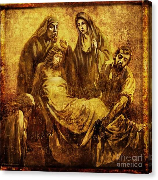 Laid_in_the_tomb Via Dolorosa 14 Canvas Print