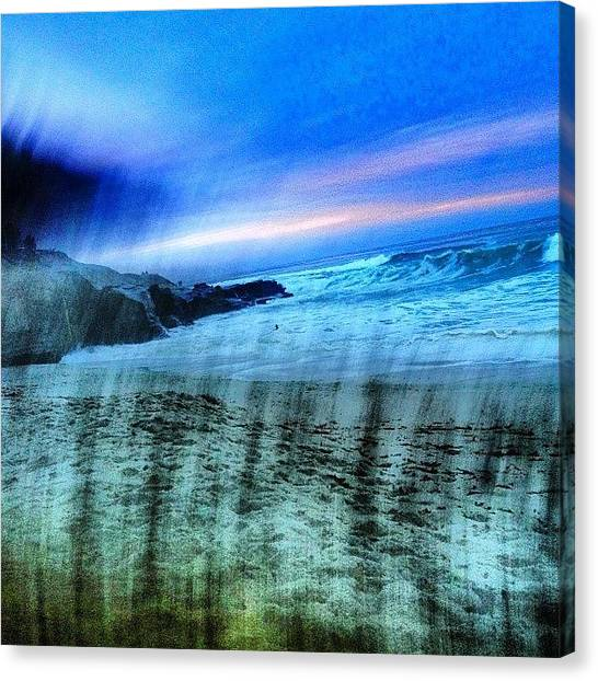 Wine Canvas Print - #lajolla #yup by Thewinery Wine