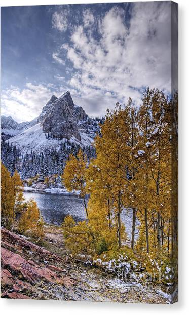 Lake Blanch Canvas Print by Earl Nelson