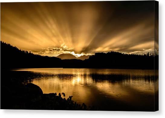 Lake Dillon Sunset Canvas Print
