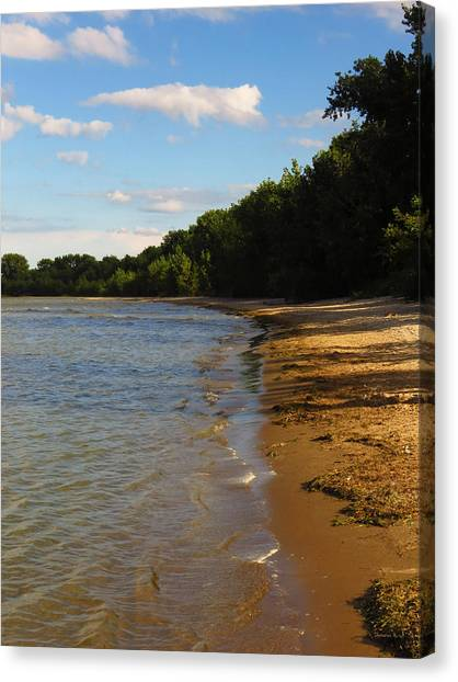 Lake Erie Shore 3 Canvas Print