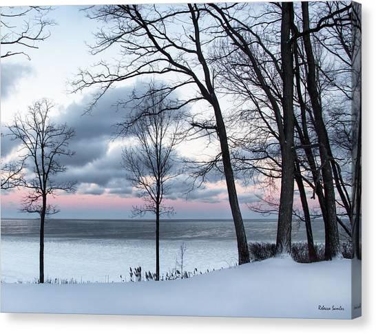 Lake Erie Sunrise Canvas Print