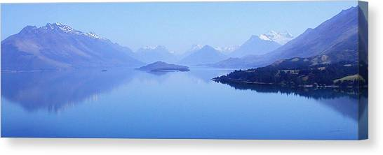 Lake Glenorchy New Zealand Canvas Print