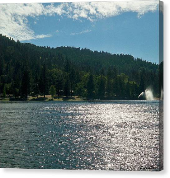 Lake Gregory Canvas Print