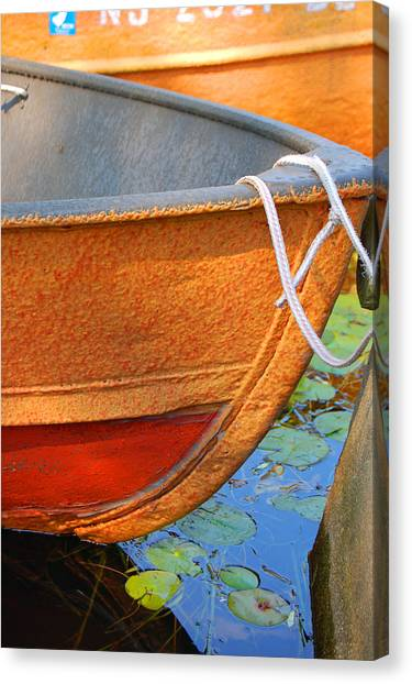 Lake Hopatcong Boat Canvas Print
