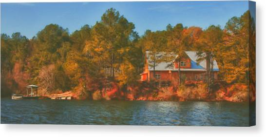 Lake House Canvas Print