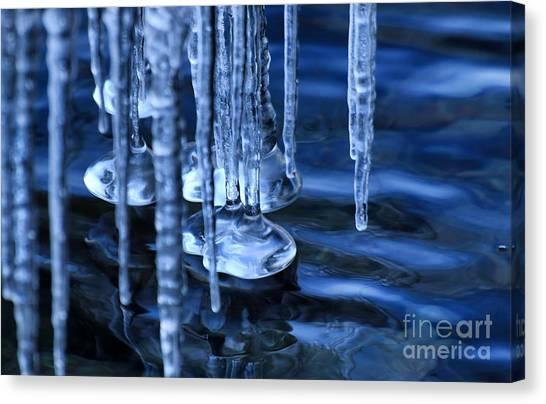 Lake Ice Canvas Print
