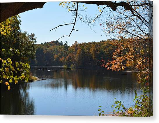 Lake In The Catskills Canvas Print
