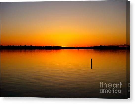 Lake Independence Sunset Canvas Print