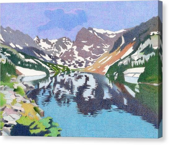 Lake Isabelle Colorado Canvas Print