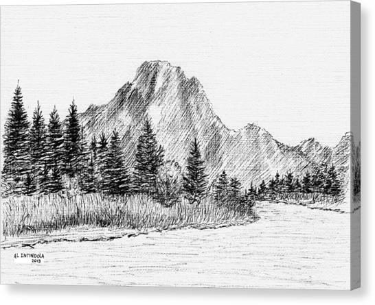 Lake Jackson Canvas Print