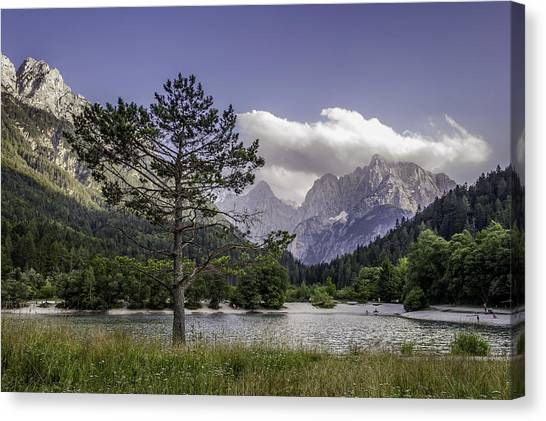 Lake Jasna Canvas Print