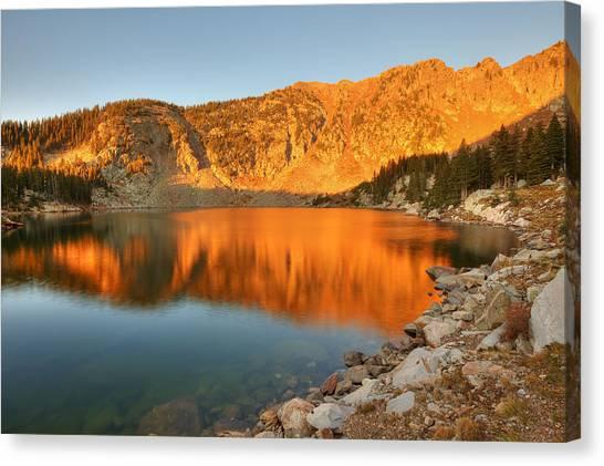Lake Katherine Sunrise Canvas Print