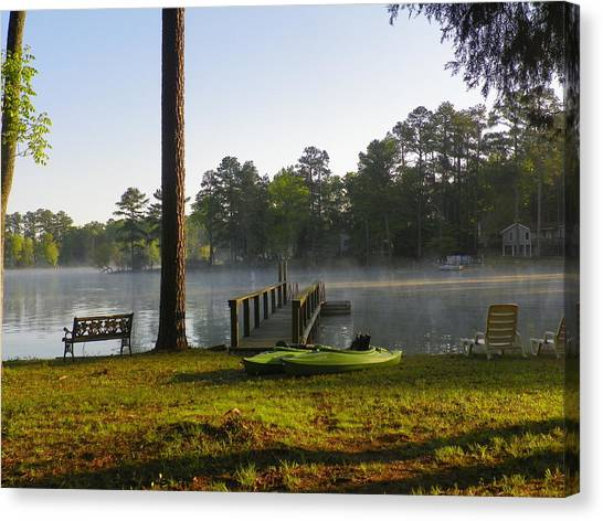 Lake Life Canvas Print